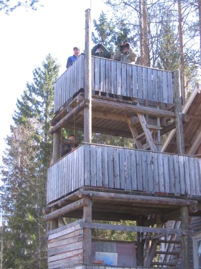 Mäntyperän tornissa taisteltiin jo kymmenennen kerran.