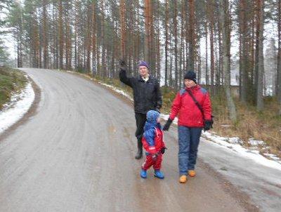 Kuvassa Seppo Järvimies , Sari Ramula, Robin Kallio.