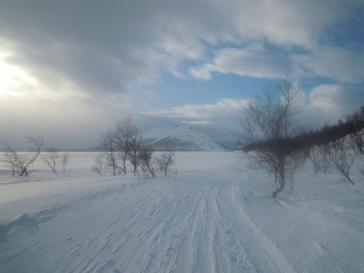 Kilpisjärvi keskiviikkoiltana. Kaunista, eikö totta?