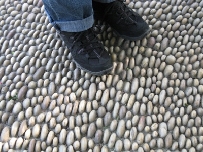 Kiinalaisesta kivimiestaidosta oli näytteitä kaikkialla.