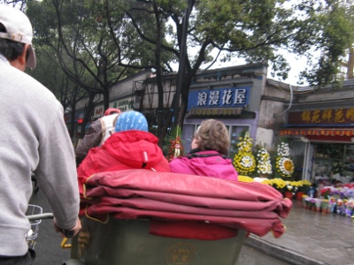 Riksakyytiä Pekingissä.