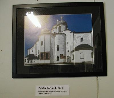 Pyhän Sofian kirkko Novgorodissa on 1100-luvulta ja Pohjois-Venäjän vanhin.