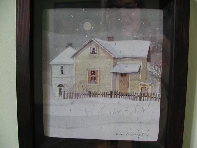 Sama talo uudestaan kuvattuna.