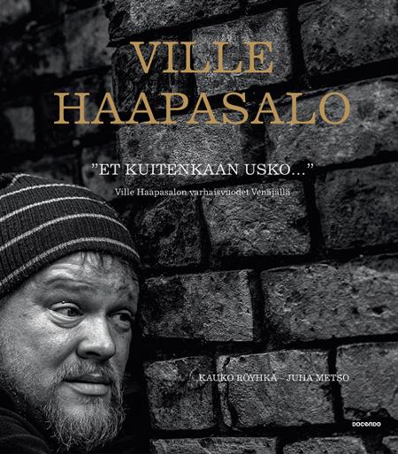 Ensimmäisen Haapasalo-kirjan kansi.