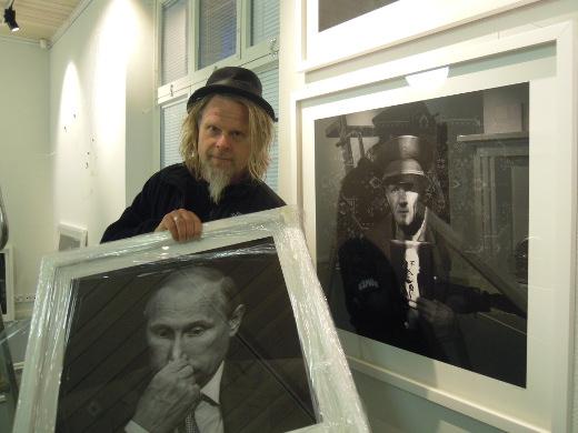 Juha Metso on kuvannut myös presidentti Putinin.