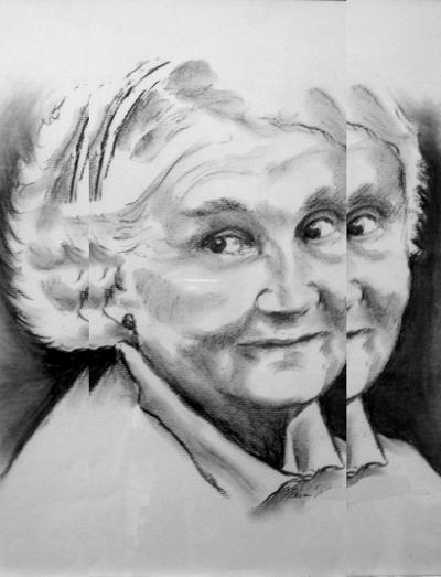 Eeva Jokipelto. Mummo. 2015. Multigafiikka.