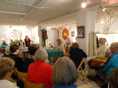 Gellarian näyttely kiinnosti isoa joukkoa.