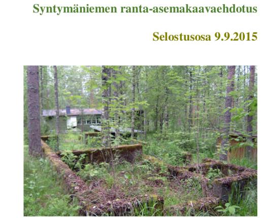 Kaava-asiakirjat löytyvät Lemin kunnan verkkosivuilta otsakkeen asuminen alta.