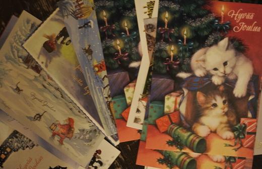 Tänään on viimeinen päivä lähettää joulukortit halvemmalla jouluhinnalla.