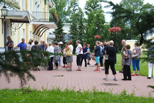 Viime kesän matka suuntautui Rakvereen ja Itä-Viroon.