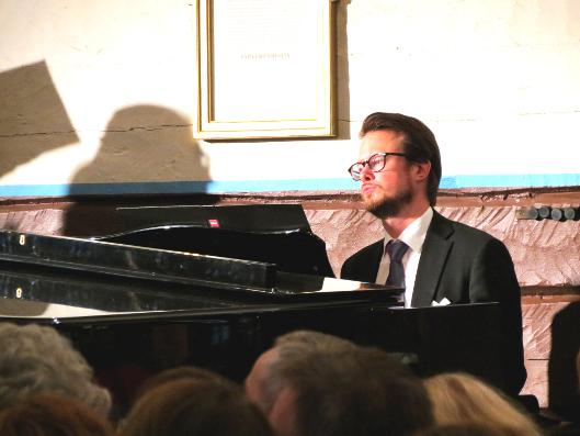 Jukka Nykänen Lemin musiikkijuhlilla viime kesänä
