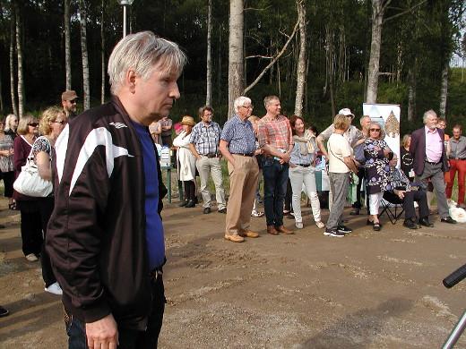 Kuuksenen rannan loma-asukas Markku Juvakoski näki maatalouden suurimmaksi syypääksi Kuuksenen surkeaan tilaan.