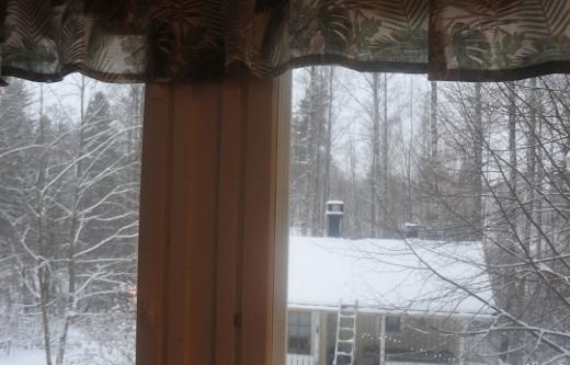 Ja taas on talvi.