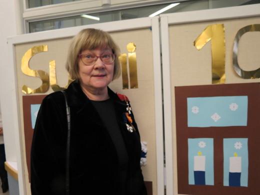 Pääjuhlan juhlapuheen piti professori emerita Pirkko Nuolijärvi. Hän puhui kielen muuttumisesta ja ihmisten moninaisista tavoista käyttää äidinkieltään.