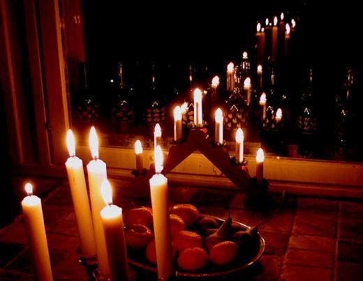 Tänä vuonna aatto osui neljänneksi adventtisunnuntaiksi.