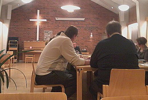 Lemin kirkkovaltuusto tiistain kokouksessaan.
