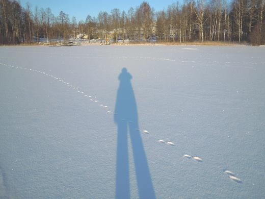 Keskiviikkona oli tarjolla pakkasta, aurinkoa ja jäätä liikkumiseen.