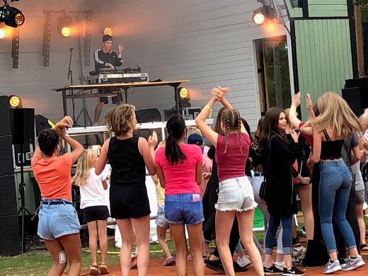Taphtuman viimeinen esiintyjä oli DJ Aöex Mattson.