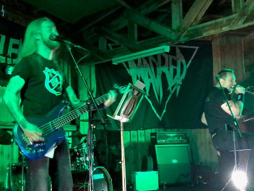 """Stoor sai päivän railakkaimmat suosioosoitukset vetäessään Lordin Hard rock hallelujah'n Antti """"Hyrde"""" Hyyrysen ja Lem1 Allstarsin solistina."""