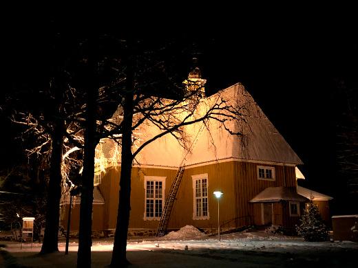 Lemin nykyinen kirkko on seurakunnan kolmas kirkko vuodelta 1786.