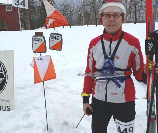 Hilkka Lankia kisaili tänä viikonloppuna Pälkäneellä. Saaliina oli sarjan voitto ja kuudes sija noin kymmenen kilpailijan joukossa.