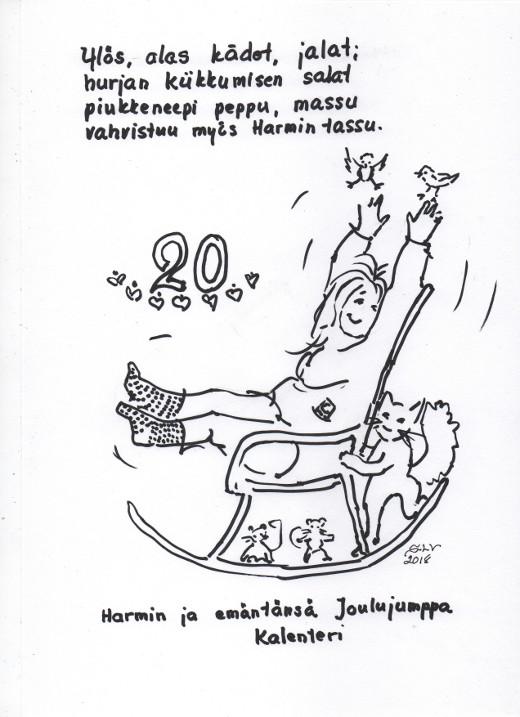 Joulujumppa 20