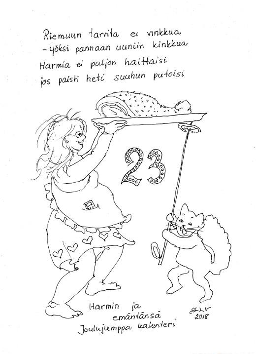 Joulujumppa23