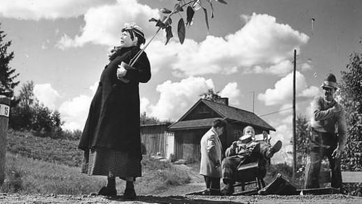 Elokuvan röttelötalo oli Hannele Partamiehen tädin ja tämän miehen ensimmäinen asunto Helsingissä.