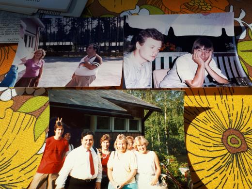 Maarit Kirvessalo-Nurmelalla on noista päivistä rinsaasti valokuvia.