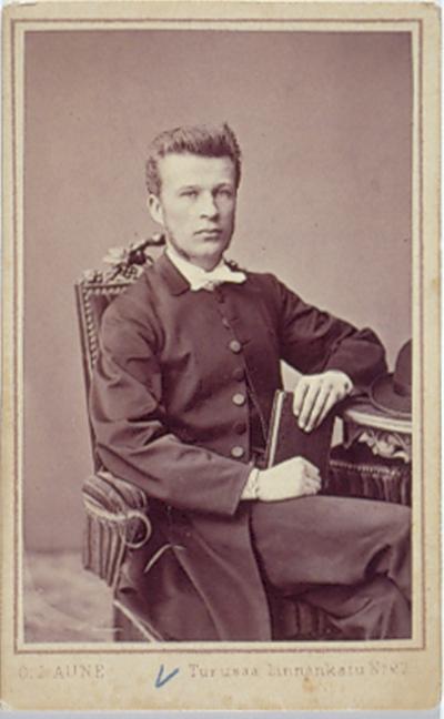 Kansikuva Lemin kirkkoherra Jakob Wilhelm Bärlund Aunes Fotografi Atelier, kuvaaja ; Haverinen, Markku, reprokuvaaja Museovirasto